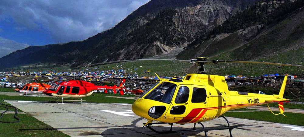 Amarnath Helicopter Fixed Tour Package Ex Baltal with Sonmarg