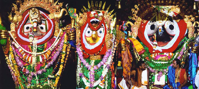 Jagannath Temple Deities