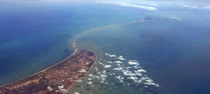 Ram Setu (Adam's Bridge)