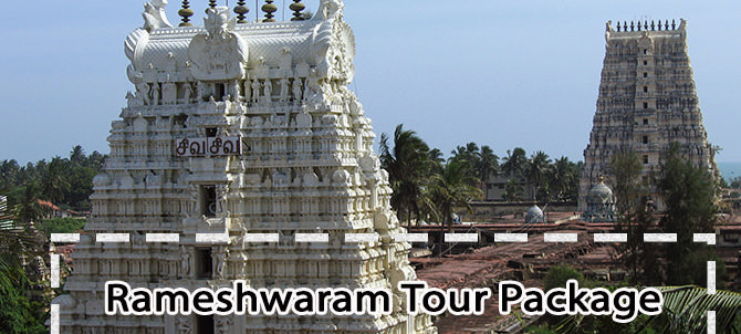 3 Nights Rameshwaram Tour Package with Kanyakumari & Madurai