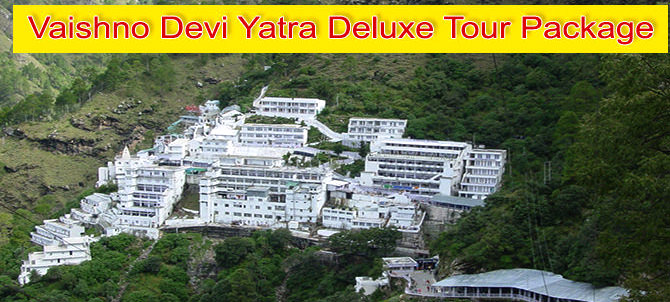 IRCTC Vaishno Devi Yatra Deluxe Tour Package