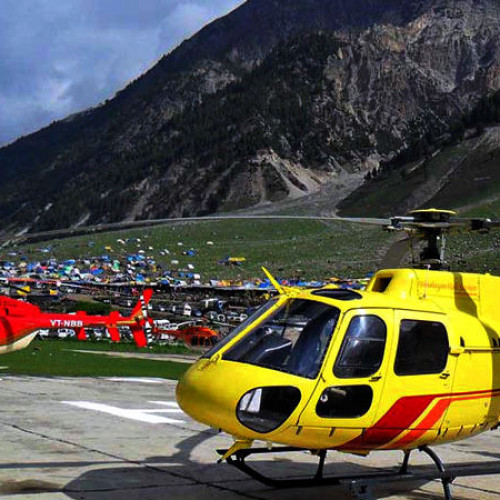 Amarnath Helicopter Package Ex Pahalgam with Vaishno Devi Yatra & Srinagar