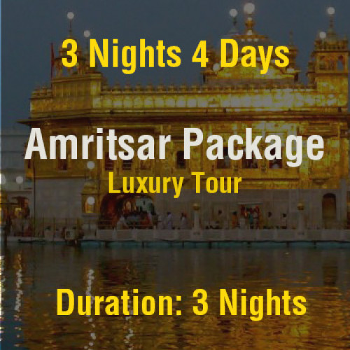 4 Days Amritsar Luxury Tour Package