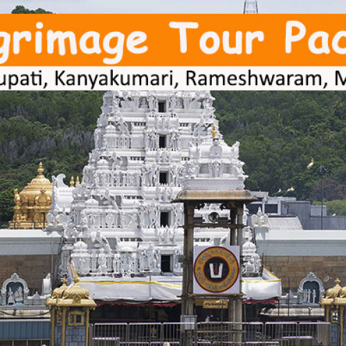 6 Days Pilgrimage Tour Package to Tirupati, Kanyakumari, Rameshwaram, Madurai from Delhi with Flights