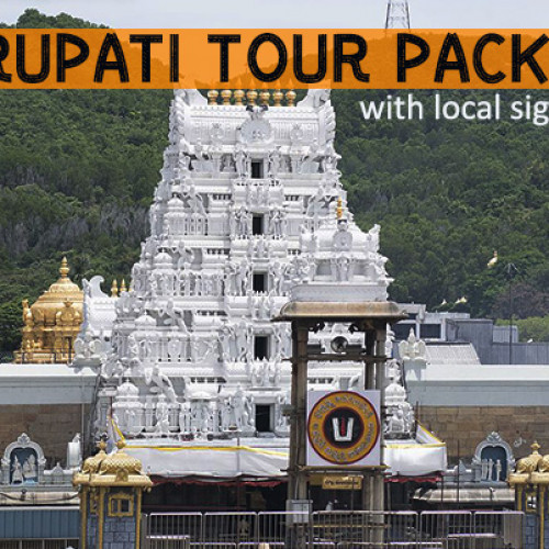 2 Days Tirupati Travel Package from Delhi with Flights