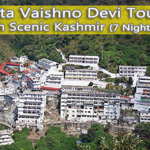 Vaishno Devi Tour Package with Scenic Kashmir