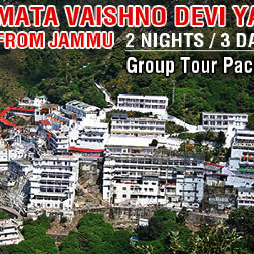 Vaishno Devi Budget Group Tour Package from Jammu