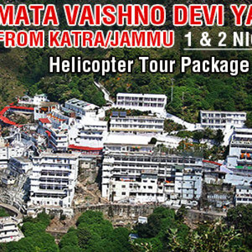 2 Days Vaishno Devi Helicopter Tour Package from Delhi by Air