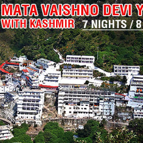 7 Nights Vaishno Devi Tour Package with Kashmir