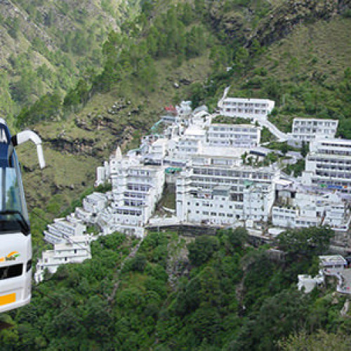 3 Days Vaishno Devi Volvo Bus Tour Package from Delhi